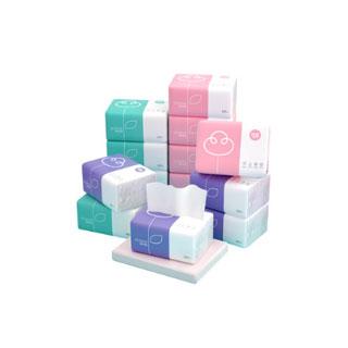 原木卫生纸巾实惠40包