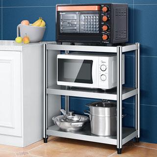 不锈钢多层厨房客厅置物架