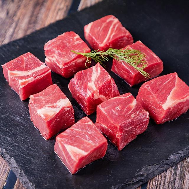 拍2件原切牛腩塊4斤