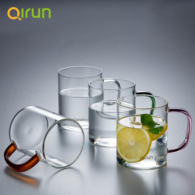 透明玻璃杯4只裝套裝