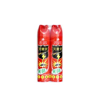 殺蟲劑氣霧劑無味2瓶