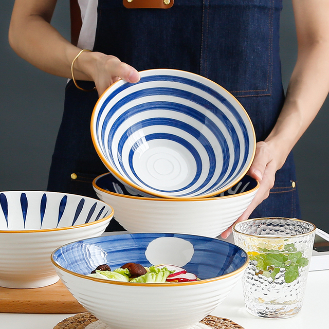 网红创意新骨瓷碗盘