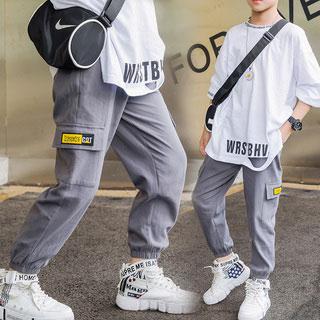 儿童休闲韩版潮流工装裤