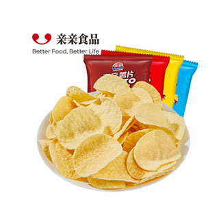 亲亲薯片休闲零食60g*8