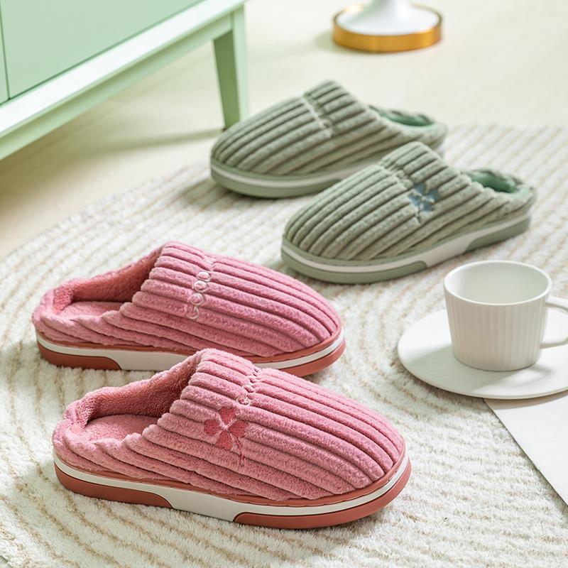 阿巴狮冬季新款棉拖鞋