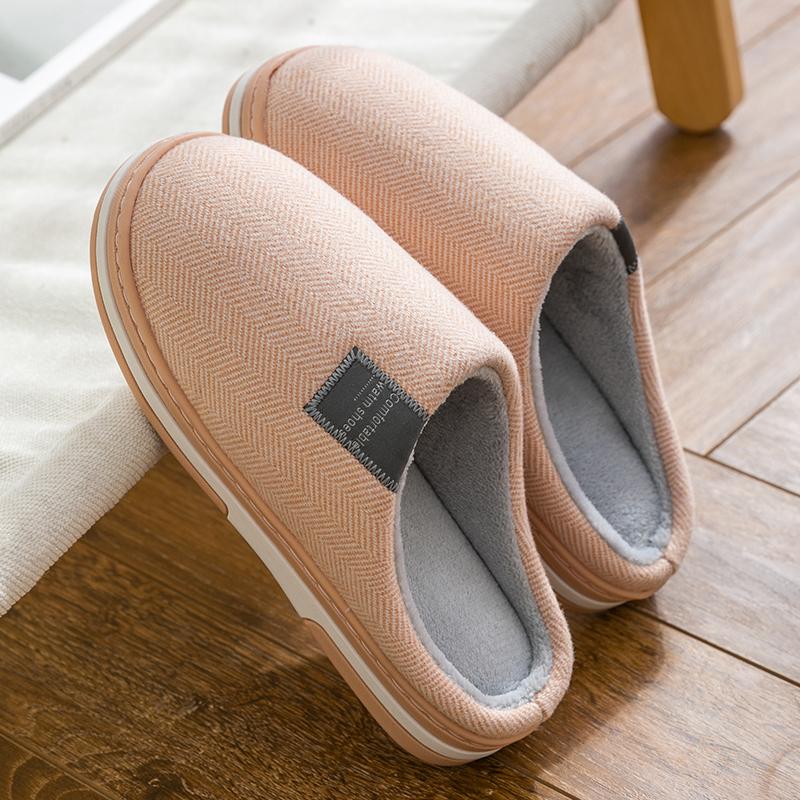 毛绒全包跟家居棉鞋