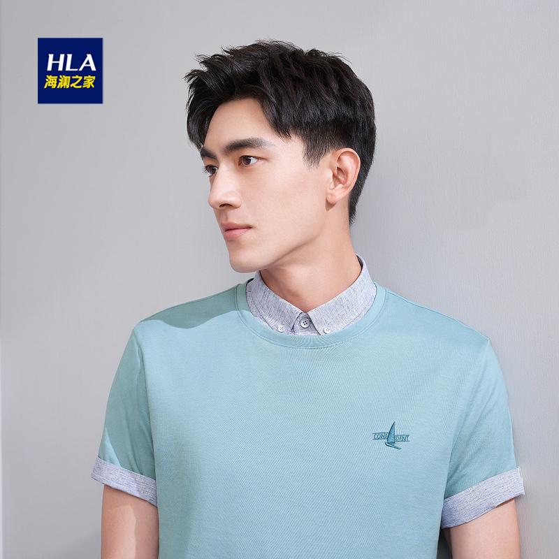 HLA/海瀾之家短袖t恤
