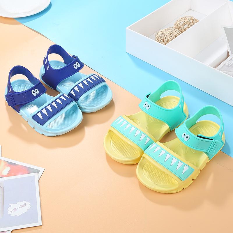 儿童防滑软底凉鞋