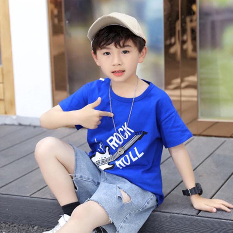 男童纯棉短袖t恤