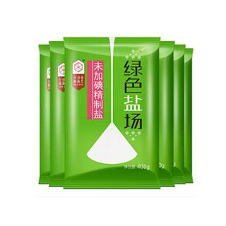 无碘食用盐400g*7包