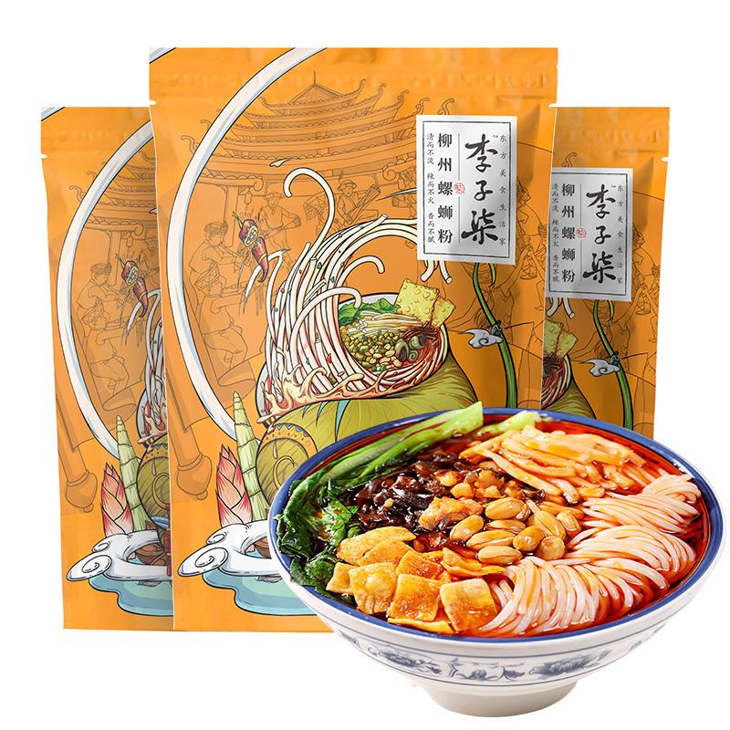 李子柒柳州螺蛳粉3包