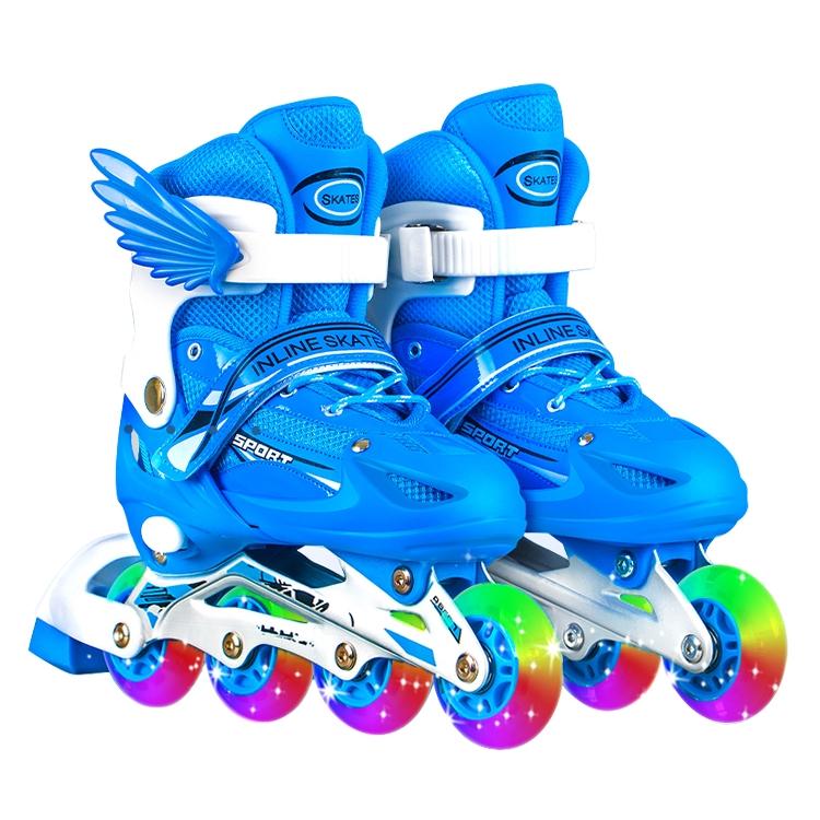儿童旱冰溜冰鞋轮滑鞋
