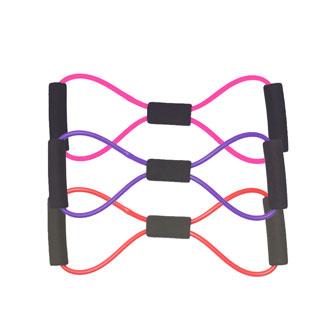 新款臂力8字拉力绳