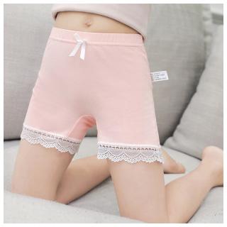 女童防走光纯棉安全裤2条