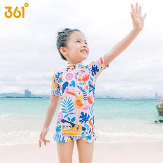 361度儿童泳衣女孩