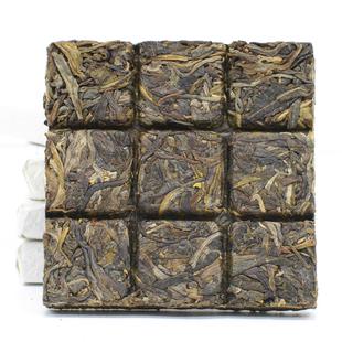雲南西雙版納猛海生普洱茶葉茶磚