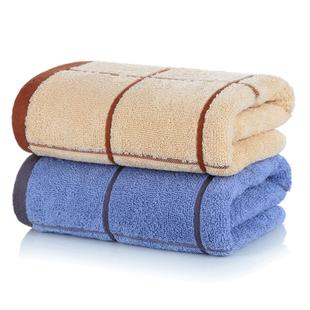 南极人2条大毛巾纯棉