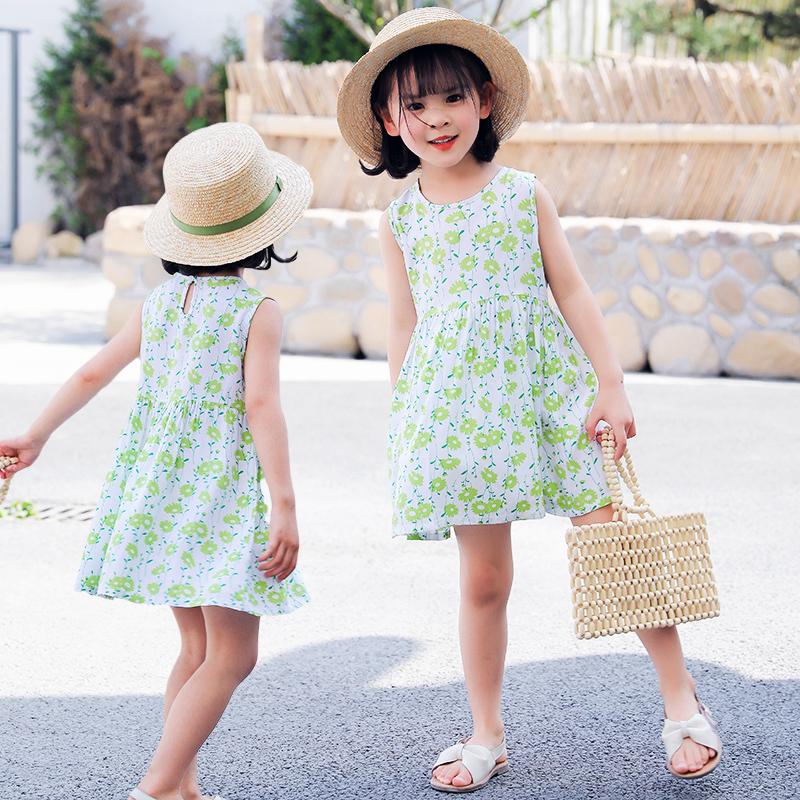 女童夏季公主连衣裙