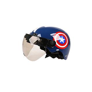电瓶车儿童成人通用头盔
