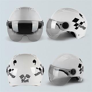 男女通用防晒安全头盔