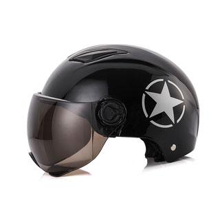 1号电动电瓶车头盔