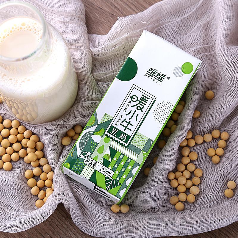 暖小牛维维豆奶250ml*18盒