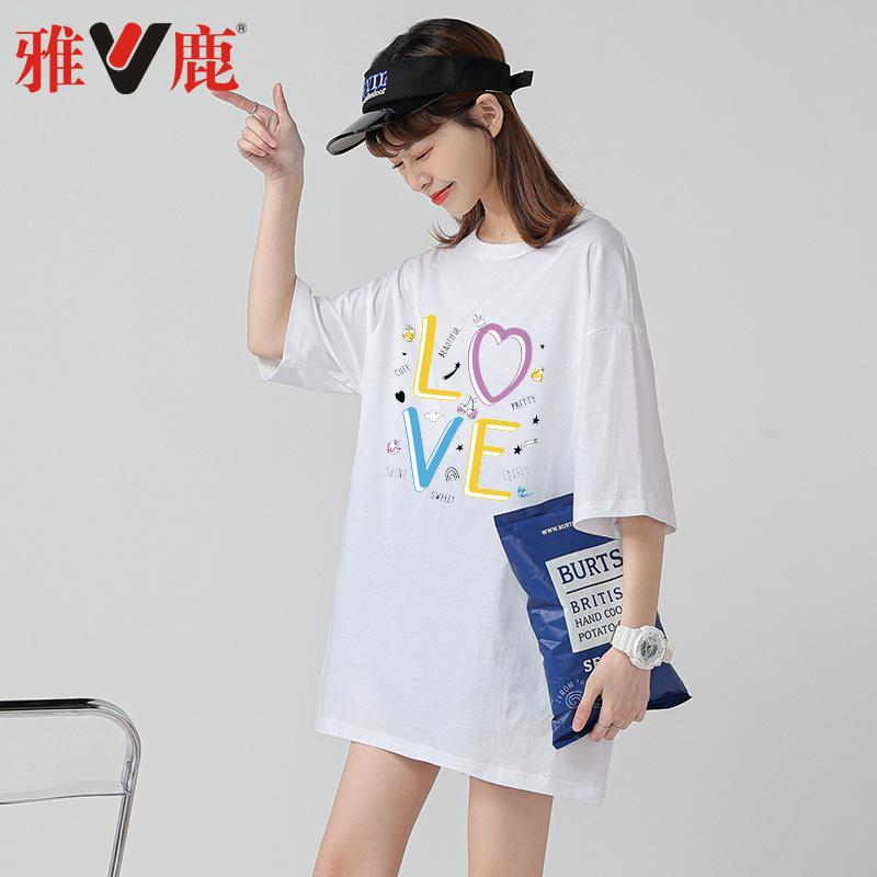中长款女士纯棉T恤