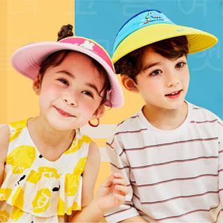 夏季兒童太陽帽防曬帽大檐帽