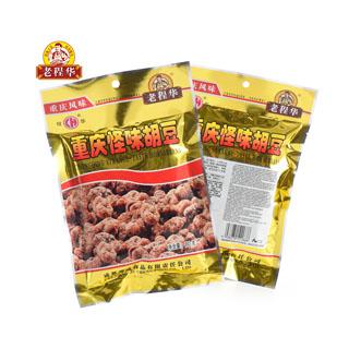 老程華怪味胡豆80g*5袋裝