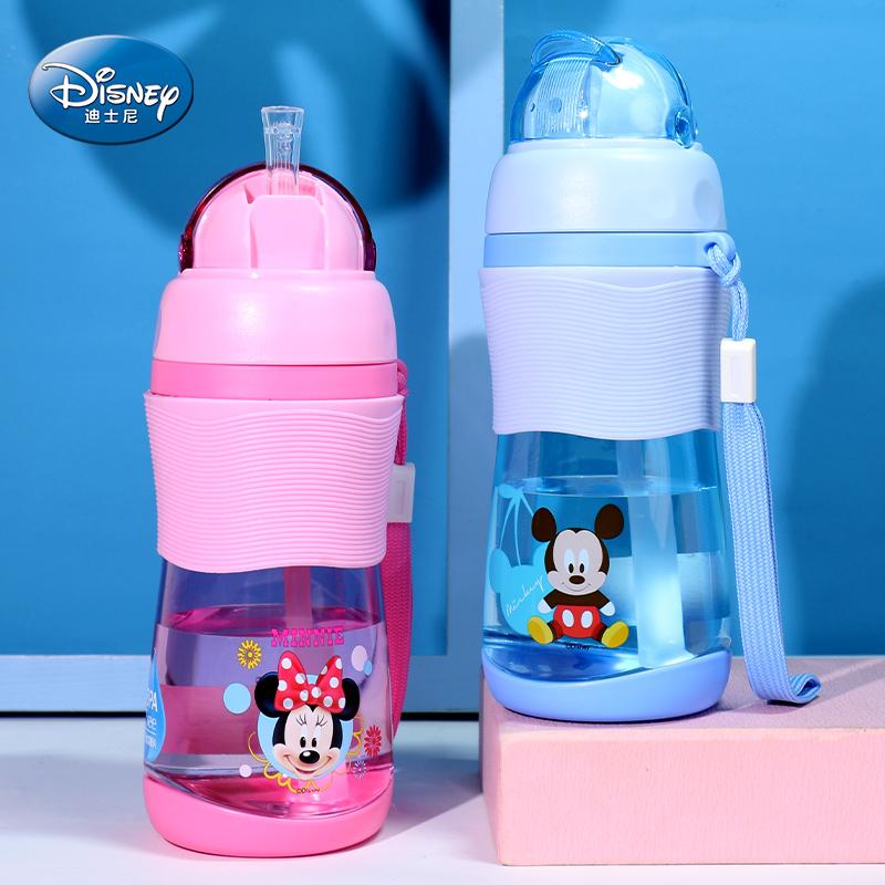 迪士尼兒童水杯吸管杯
