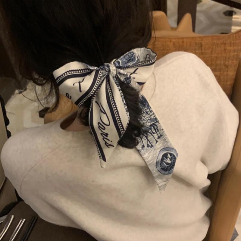 复古法式丝带发带