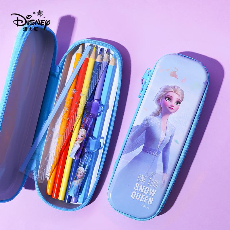迪士尼可爱文具铅笔盒