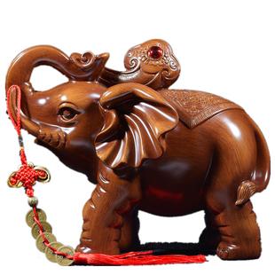 大象摆件开业客厅工艺装饰品