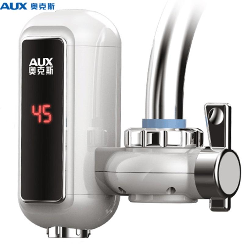 奥克斯电热水龙头免安装速热