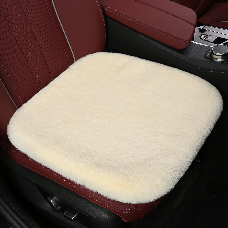 冬季汽车坐垫仿兔毛短毛绒