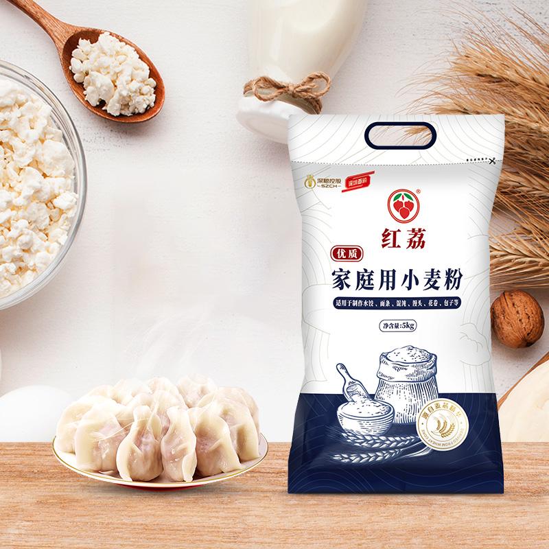 深粮小麦粉5kg包子馒头专用粉