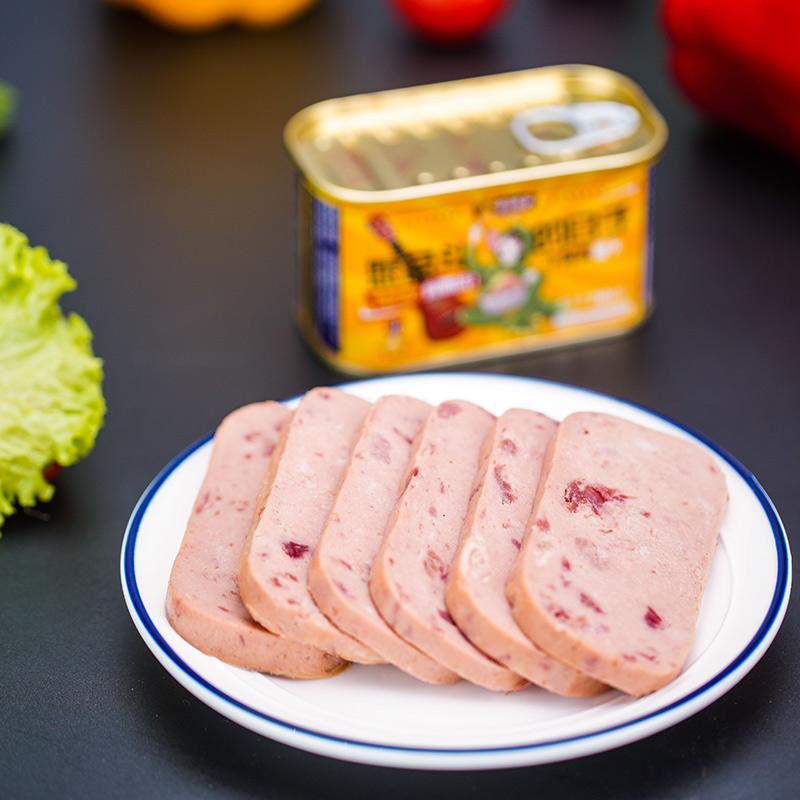 午餐猪肉罐头200g*3罐