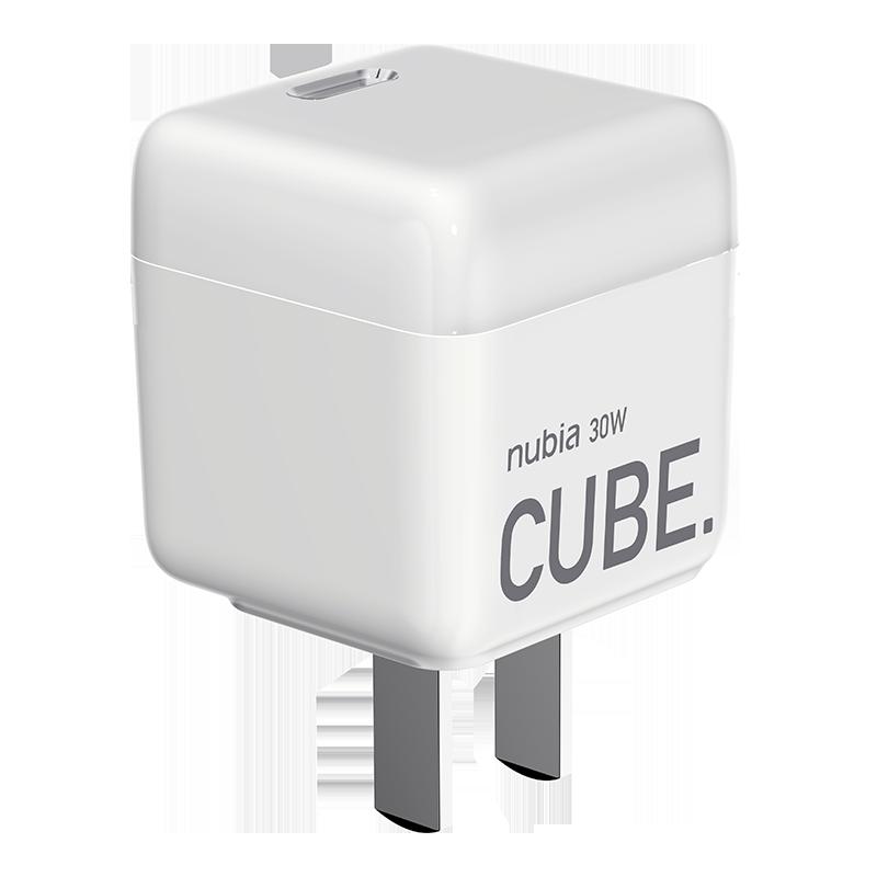 努比亞30W氮化鎵GaN充電器